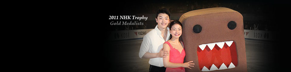 Four Continents Championships 2011 - Silver Medalists